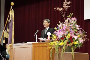 母校創立40周年記念式典|愛知県立安城東高等学校同窓会 碧海野会「達」